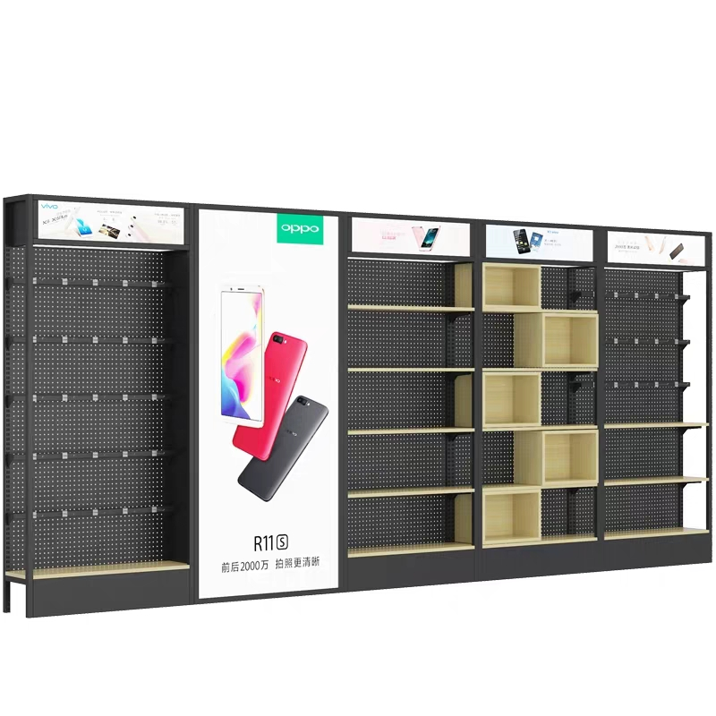 Hot sale mobile phone <strong>display</strong> stand cell phone wall <strong>display</strong> stands metal phone accessories racks