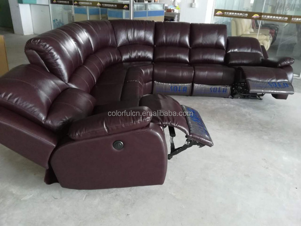 L Shape Recliner Sofa L Shape Recliner Sofa Suppliers and
