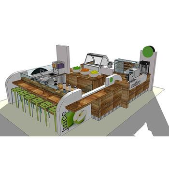 Custom Design Juice Bar Cart With Wheels Buy Juice Bar