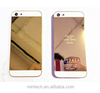 Replacement 24K Gold Back Cover Housing For iPhone 5 5s 6 6 plus