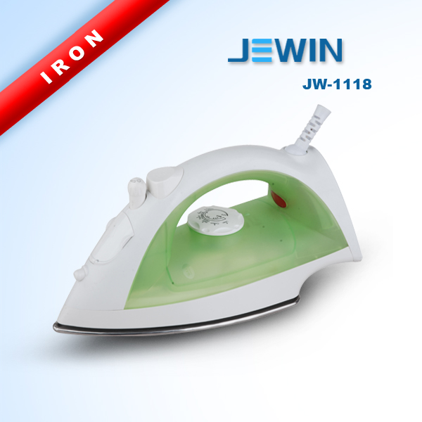 stainless steel dry and steam cleaner iron