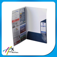 Good Quality Custom sizes plastic folder with pockets and photograph print for company