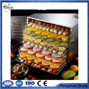 mini type food dryer,10 trays meat dehydrator,High Efficiency Fruit Drying Machine price