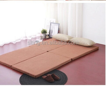 comfort sleep easy high density foam bed foldable mattress for camping