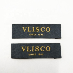 cheap woven neck label for t shirts