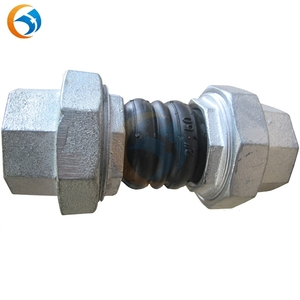 galvanized union type rubber expansion flexible joints