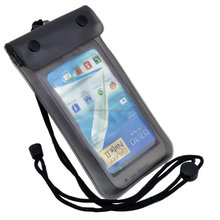 wholesale promotional PVC phone case waterproof bag for iphone 6