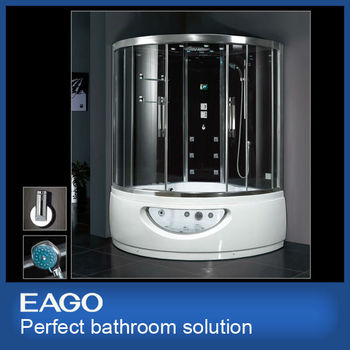 828583a95d9 EAGO steam shower room with massage bathtub DA333F8 luxury bathroom  solutions