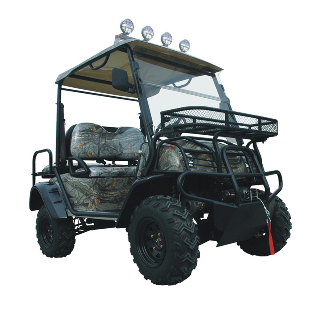 4 Wheel Drive Electric Golf Cart Hunting 2 Seater Pedal
