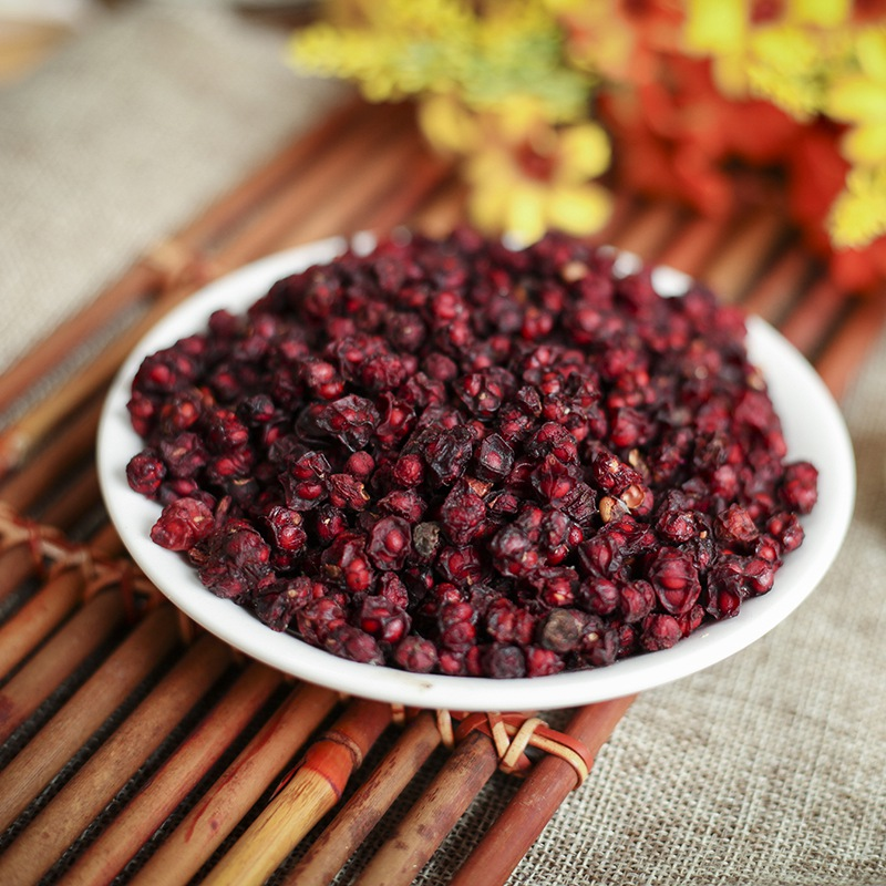 On Sale Super Chinese Schisandra Berries Tea Green Food 250g China Wu Wei Zi Herb Schisandra <strong>Health</strong> Scented Tea