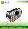 BSCI QQ Factory Dog Saddle Bags Pet Travel Bag Small Animal Carrying Cage