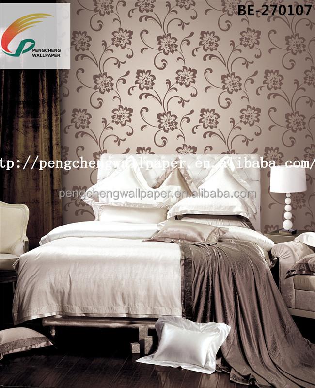 Luxe non tissé papier peint chambre à coucher papiers