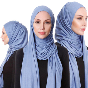 Yiwu Scarf Focus Fashion Muslim Arab Hijab Wholesale Scarf Women Plain Scarf Hijab