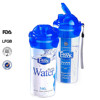 Easylock plastic with filter sport water bottle for sale