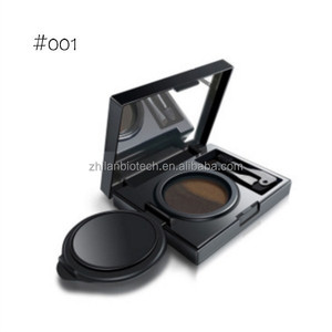 2 color eyebrow air cushion 3D brow gel eyebrow