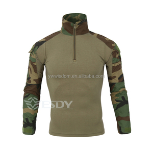 ESDYTactical Uniform Long Sleeve Shirt Men Hunting Clothing Hiking Army Military Shirts