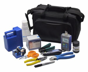 Test instruments Fiber Optic FTTH Tool Kit with Fiber Cleaver power meter with low cost