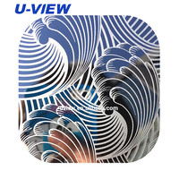 3D decorative stainless steel interior decorative metal wall panel