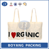 High quality cotton jute canvas bag for shopping