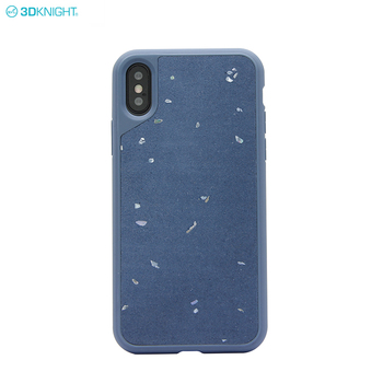2019 Modern Design Authentic Cement Inlay Phone Case For iPhone X XR XS MAX