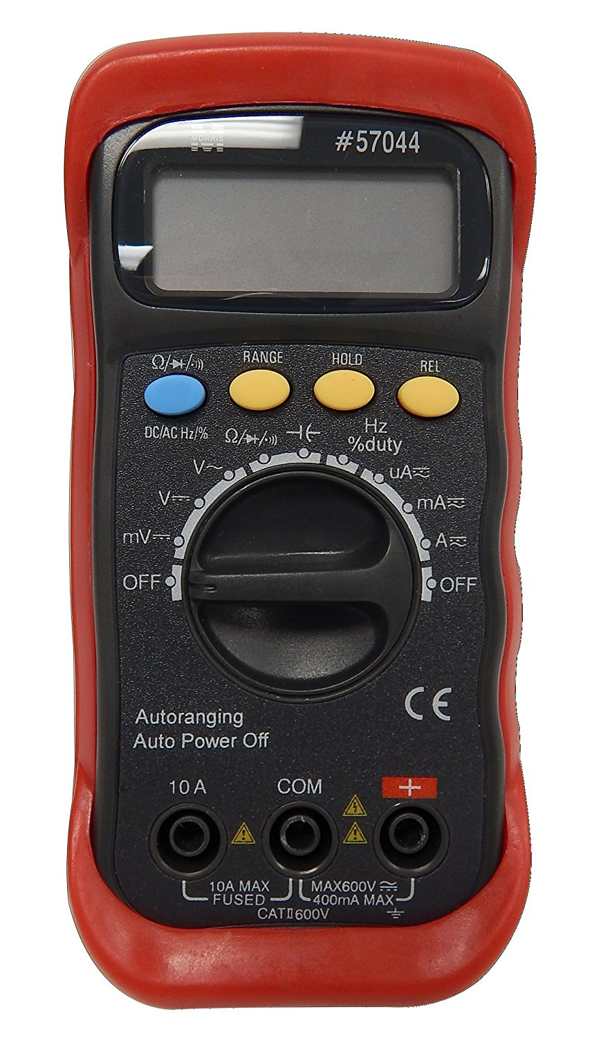 Morris Products 57044 Autoranging Digital Multimeter with Rubber Holster