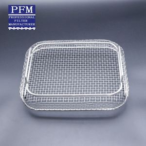 304 Stainless Steel Bbq Grill Netting Barbecue Wire Mesh Tray