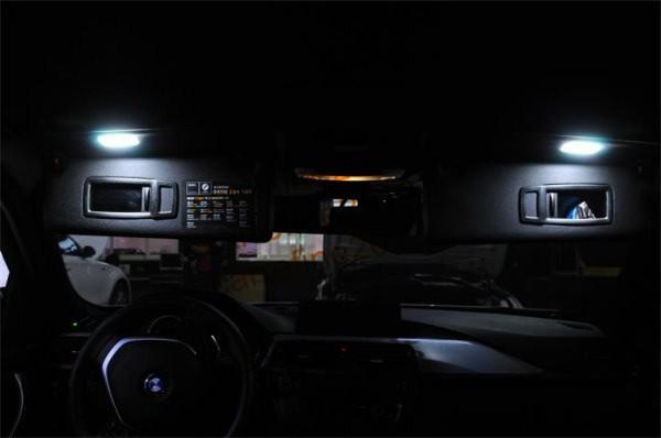 Car Led Interior Vanity Mirror Light For Bmw E88 E93 Lci