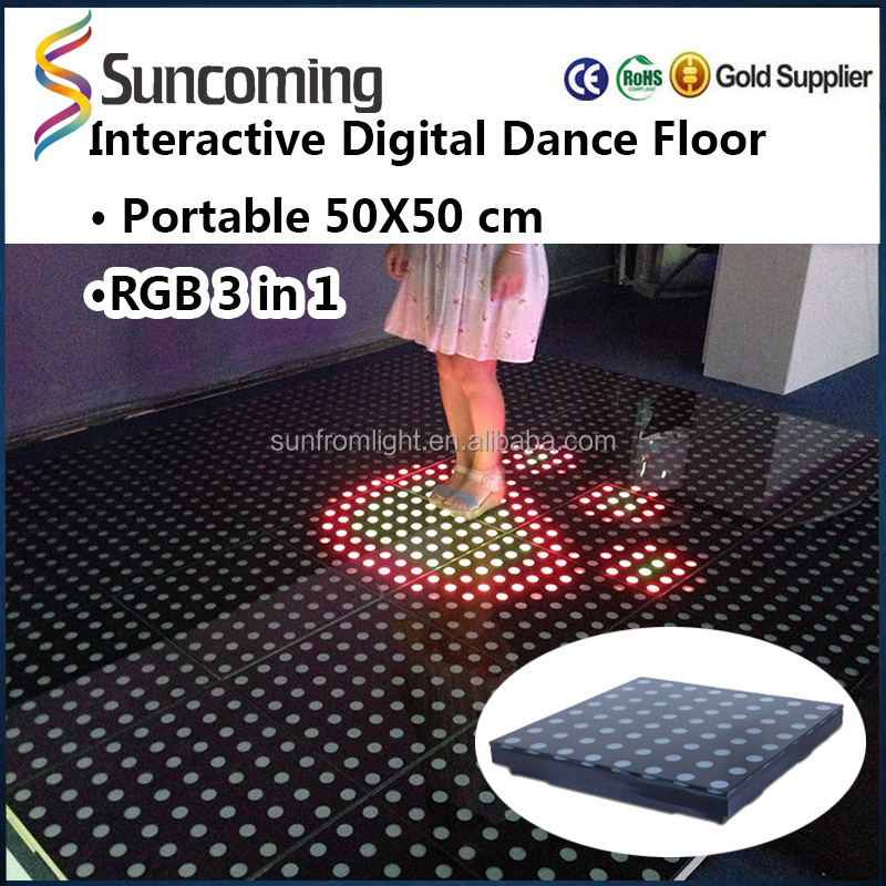 China manufacturer dance floor led