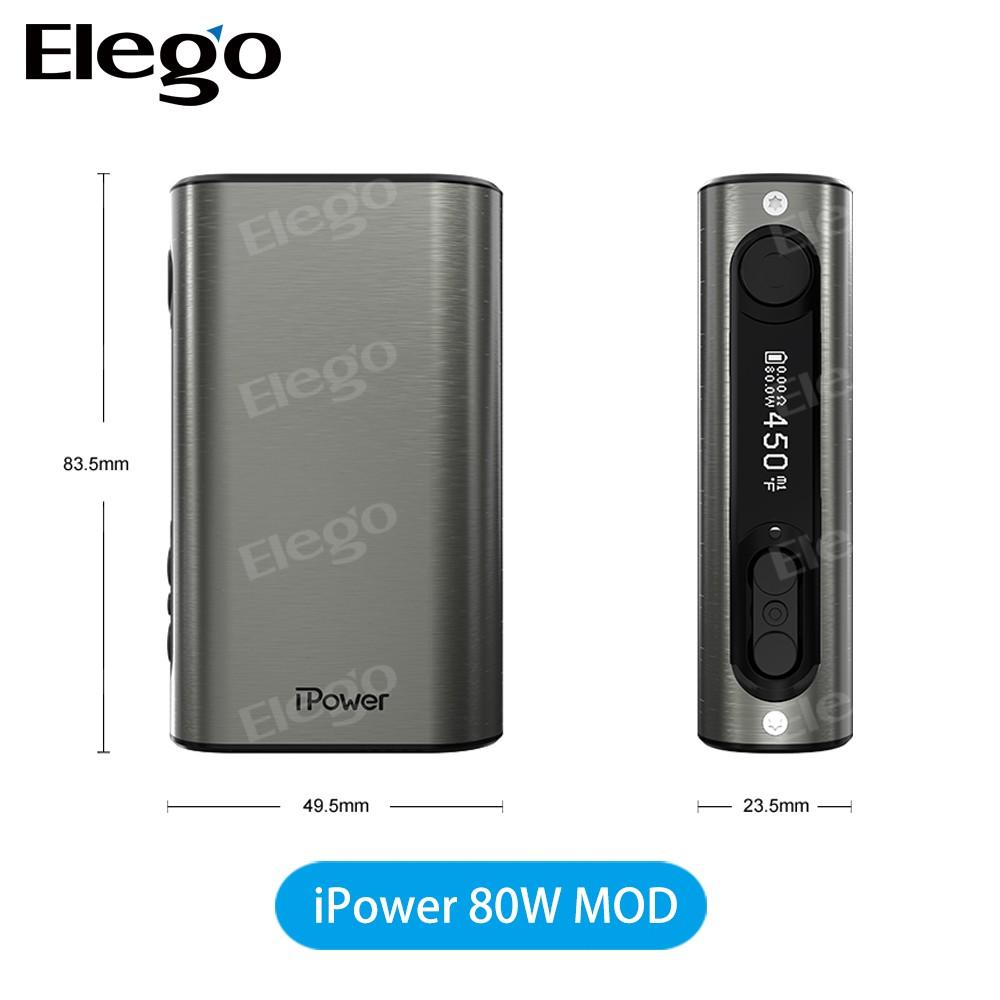 Eleaf Ipower 80w Tc Box Mod With 5000mah Battery,Wholesale Eleaf Istick 80w  100% Original Vs Cuboid/cubis Pro - Buy Eleaf Ipower 80w Mod,Eleaf 80w