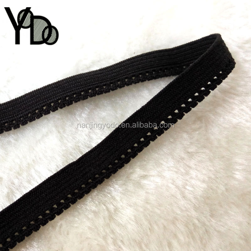 YQ-EL20 elastic spandex material woven in single color band for lany note books