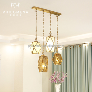 Decorative handmade glass pendant lights new product chandeliers unique Tiffany style hanging lamp