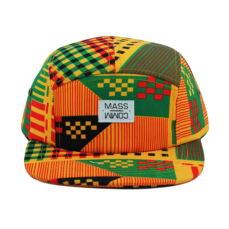 custom printing cap cotton 5 panel african <strong>hats</strong>