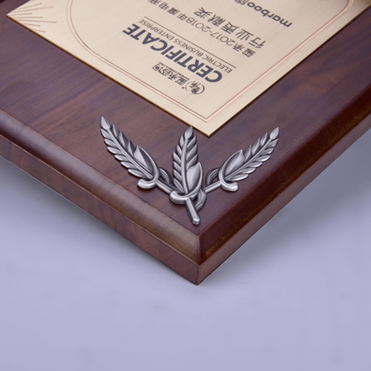 New Religious Custom Design Blank Wooden Walnut Wood Shield Plaque Decoration In Carving Crafts