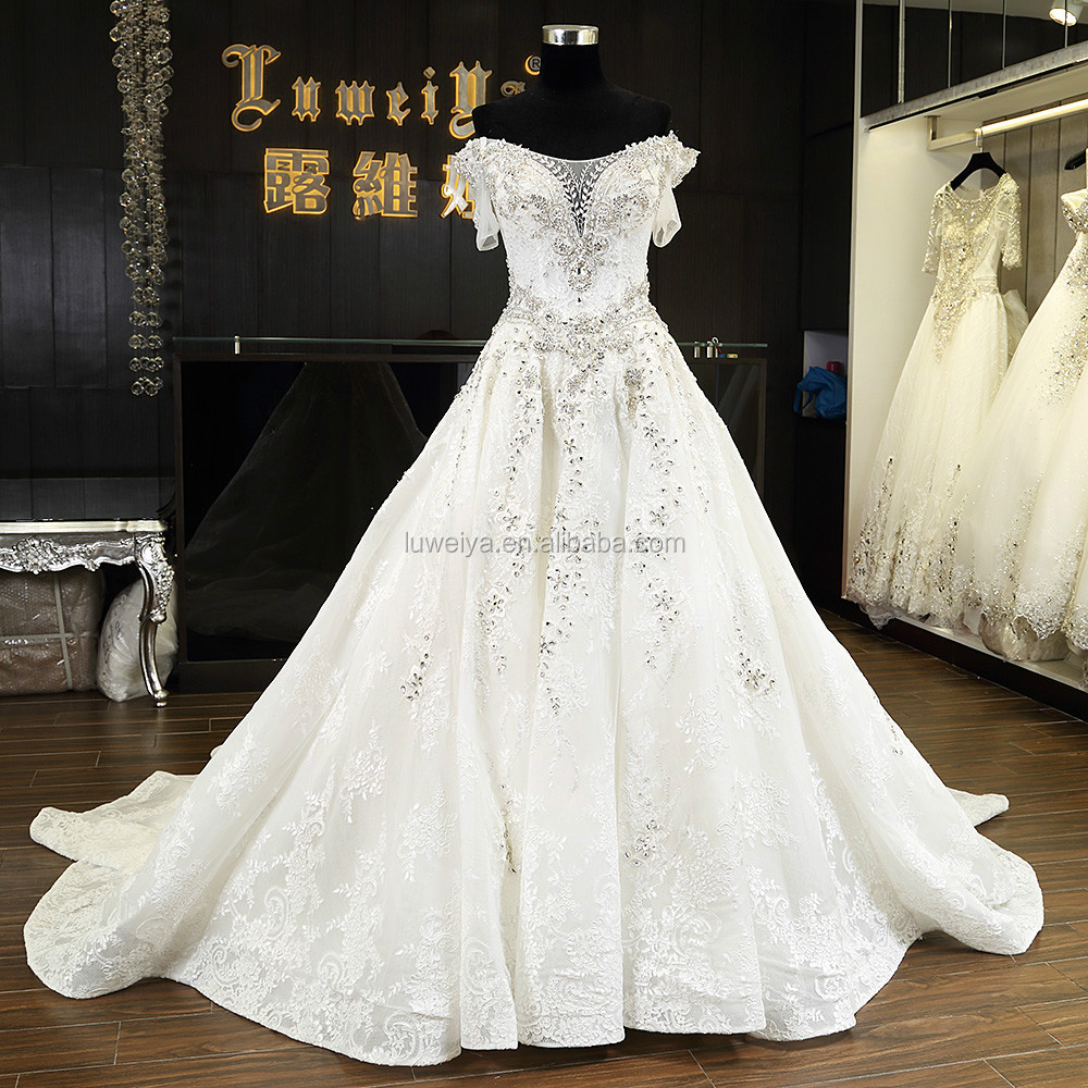 Luxury Wedding Dress China,Luweiya Wedding Dress,Wedding Dresses ...