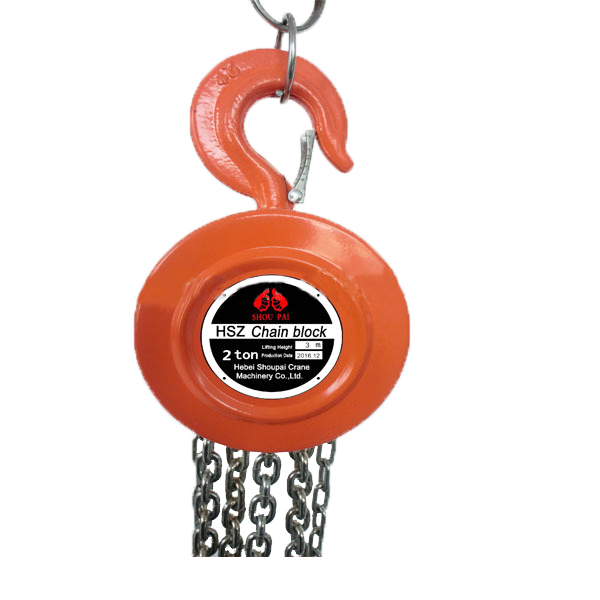 HSZ 20t Manual Chain Hoist / Lifting Equipment Tool / chain pulley block