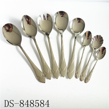 Commercial New Design SS304 Cutlery Set Of 72Pcs