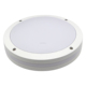 white round 15W ip65 led bulkhead light fitting