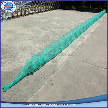 Nylon fish net trap fish traps for sale buy fish trap for Fish netting for sale
