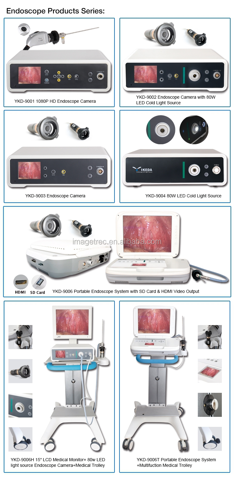 Medical Camera Endoscopy Equipment Used In Hospital For