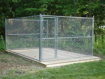China Supplier Large Chain Link Fancy Portable Dog Kennels Sale ...