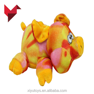 2018 new styles animal pig screen cleaner baby plush toy