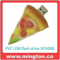 1G pizza shape usb flash drive for kids