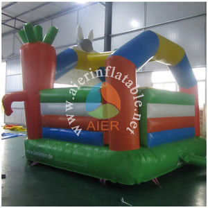 Factory sale rabbit bouncy castle used inflatable jumping castles with prices