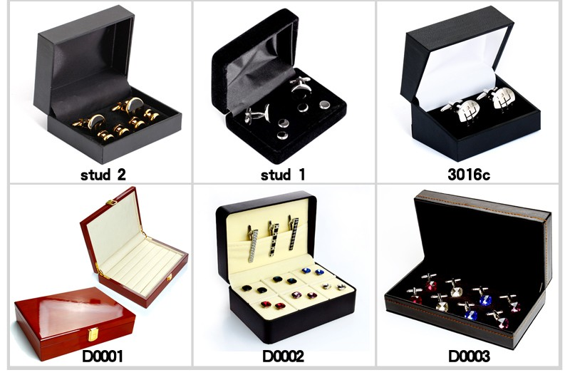 Custom cufflink box AE0004