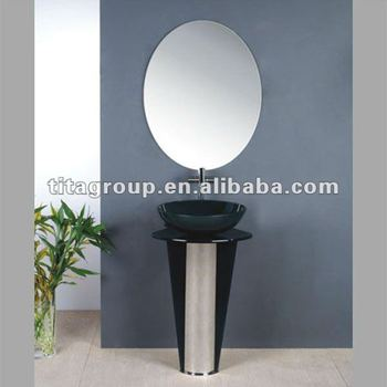 Bathroom Glass Wash Basin Stand Th70866 Buy Wash Basin