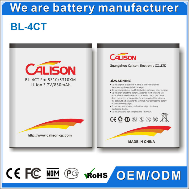10 Year manufacturer all model battery for mobile phone Nokia