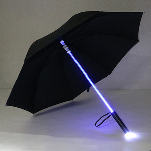 China Promotional Logo Printed Color Changing Led Umbrellas With Led Light