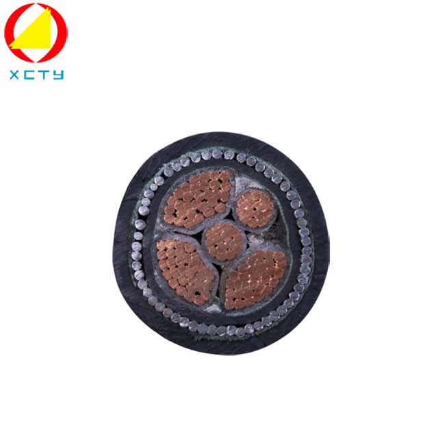 240mm xlpe 4 core armored cable