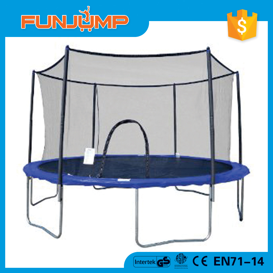 Funjump 14FT Outdoor Bounce Trampoline With Basketball Hoop