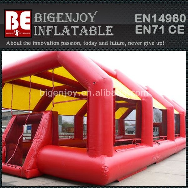 Soccer Arena Inflatable Football Field With Awning